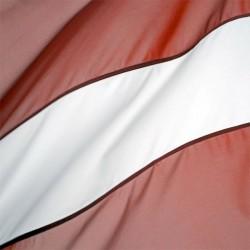 Latvijas karogs fasādei, Daiļrade