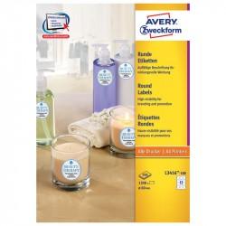 Apaļas uzlīmes, Avery Zweckform