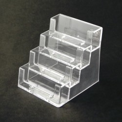 Statīvs četrvietīgs 9 x 5 cm (vizītkarte) 4BC93