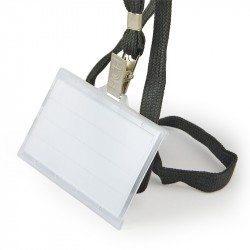 Kakla lente ID kartes turētājam