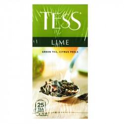 Zaļā tēja ar citrusaugļu miziņām Lime, Tess