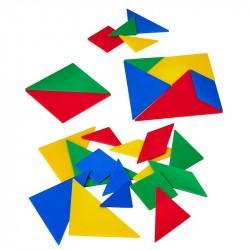 Prāta spēles figūras Tangrams, Linex