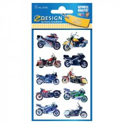 Uzlīmes 53750 (motocikli 3D), Avery zweckform