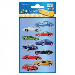 Uzlīmes 53752 (automašīnas 3D), Avery Zweckform