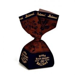 Šokolādes konfektes ar Rīgas melnā balzama krēmu 300 g, Laima