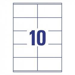 Universālas uzlīmes 105 x 57 mm, Avery Zweckform