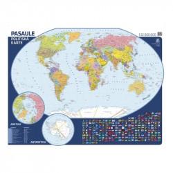Pasaules politiskāsienas karte, Jāņa Sēta