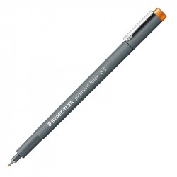 Flomāstera pildspalvas Pigment Liner 308 Coloured, Staedtler