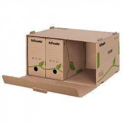 Konteiners arhīva kastēm Eco FSC® 80/100 atverams no priekšpuses, Esselte