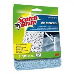 Mikrošķiedras lupatiņa vannas istabai Scotch Brite, 3M