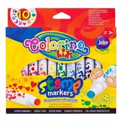 Flomasteri ar zīmodziņiem Stamp Markers