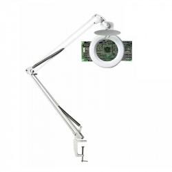 Galda lampa ar palielināmo stiklu Zoom, Unilux