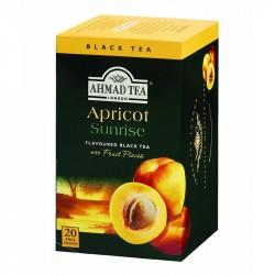 Aromatizēta melnā tēja Ahmad Apricot sunrise