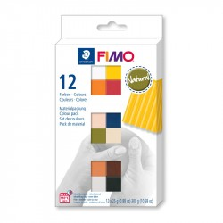 Fimo komplekts Natural Colours 12 gab., Staedtler