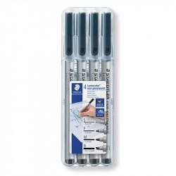 Marķieru komplekts Lumocolor® non-permanent 31-9, Staedtler