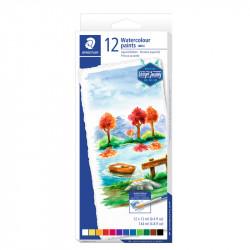 Akvareļu krāsas 8880, Staedtler