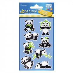 Uzlīmes 57298 (3D pandas), Avery Zweckform