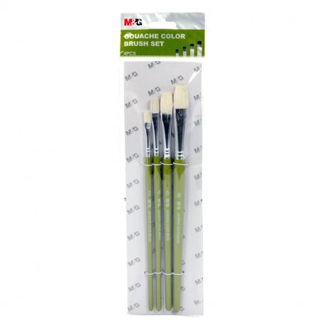 Gouache Color Brush Set