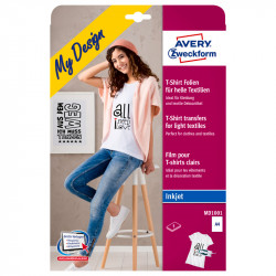 Plēve T-kreklu apdrukai, Avery Zweckform