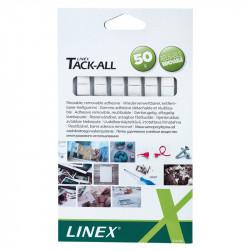Līmmasas kvadrātiņi Tack-All, Linex
