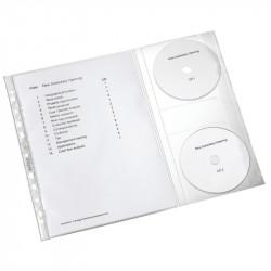 Dokumentu kabata ar 2 x CD atloku A4 5 gab., Leitz