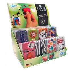 Briļļu un ekrānu tīrāmais Pocket Cleaner, Wedo