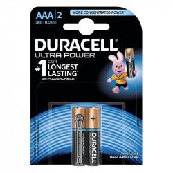 Baterijas Duracell Ultra Power AAA 1.5V 2 gab.