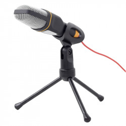 Mikrofons ar trijkāja statīvu 3.5 mm MIC-D-03, Gembird