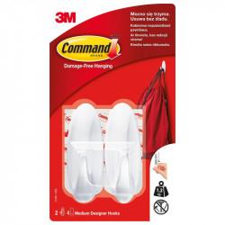 Pielīmējami pakaramie Command 17081-CEE, 3M