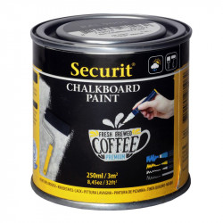 Tāfeles krāsa melna 250 ml/ 3 m², Securit