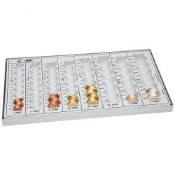 Eiro monētu kolektors  (€ 246,40), Wedo