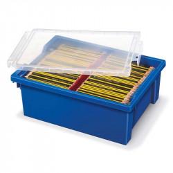 Zīmēšanas piederumu kaste ar vāku Gratnell's, Staedtler