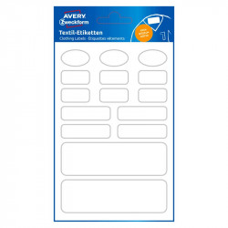 Clothing Labels 15 pcs., Avery Zweckform