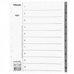 Atdalītājs ar numerāciju Servo® A4 Maxi 1–10, Esselte