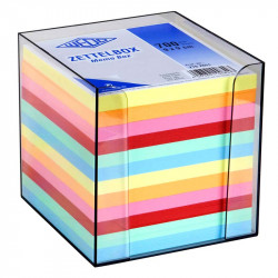 Krāsains piezīmju papīrs traukā, Wedo