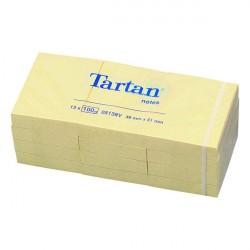 Dzeltenās piezīmju lapiņas Tartan, 3M