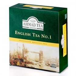 Melnā tēja English Tea No.1, Ahmad Tea