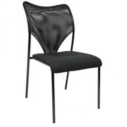Apmeklētāju krēsls Apollo Black