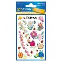 Uzlīmes-tetovējumi 56691 (ziedi), Avery Zweckform