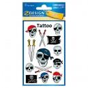 Uzlīmes-tetovējumi 56632 (miroņgalvas), Avery Zweckform