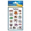 Uzlīmes-tetovējumi 56693 (zirnekļi), Avery Zweckform