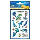 Uzlīmes-tetovējumi 56439 (delfīni), Avery Zweckform