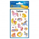Uzlīmes-tetovējumi 56681 (zirgi), Avery Zweckform