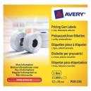 Noņemamas cenu marķēšanas uzlīmes 12 x 26 mm, Avery Zweckform