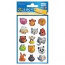 Uzlīmes 53157 (3D dzīvnieku sejas), Avery Zweckform