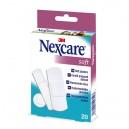 Plāksteri jutīgai ādai Nexcare Soft, 3M