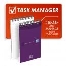 Uzdevumu bloknots Task Manager 125 x 200, Oxford