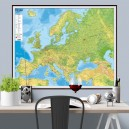 Pasaules fizioģeogrāfiskā sienas karte, Jāņa Sēta