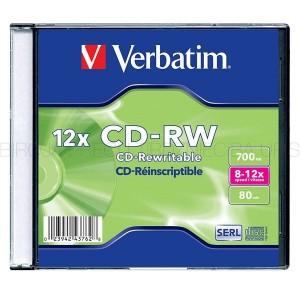 CD-RW matrice, Verbatim