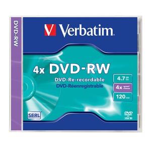 DVD-RW matrice, Verbatim
